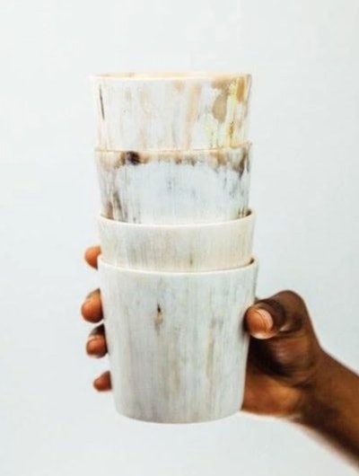 Ankole Horn Cocktail Tumblers