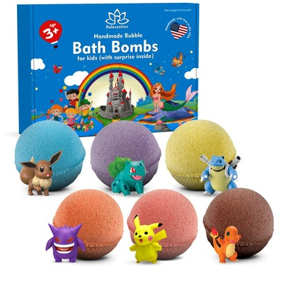 Relaxcation Toy Bath Bombs