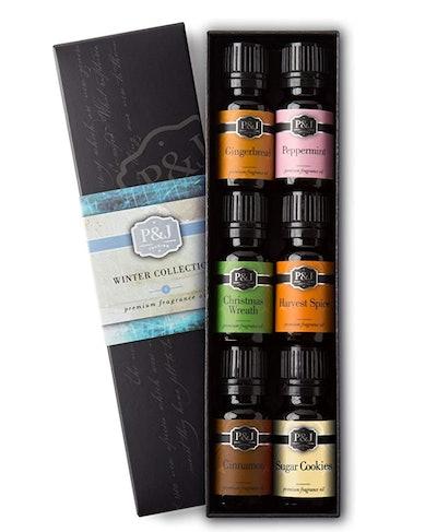 P&J Trading Winter Premium Grade Fragrance Oils (Set of 6)