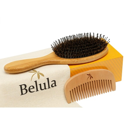 Belula Detangling Boar Bristle Hair Brush Set