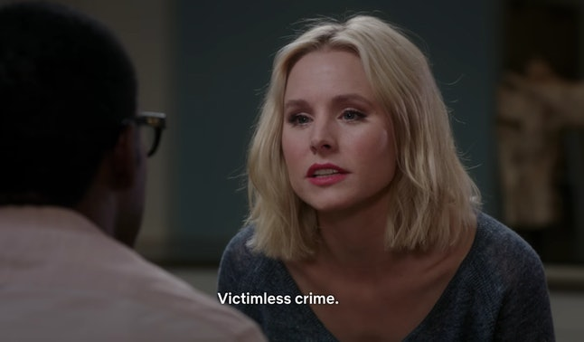 Kristen Bell as Eleanor in 'The Good Place'