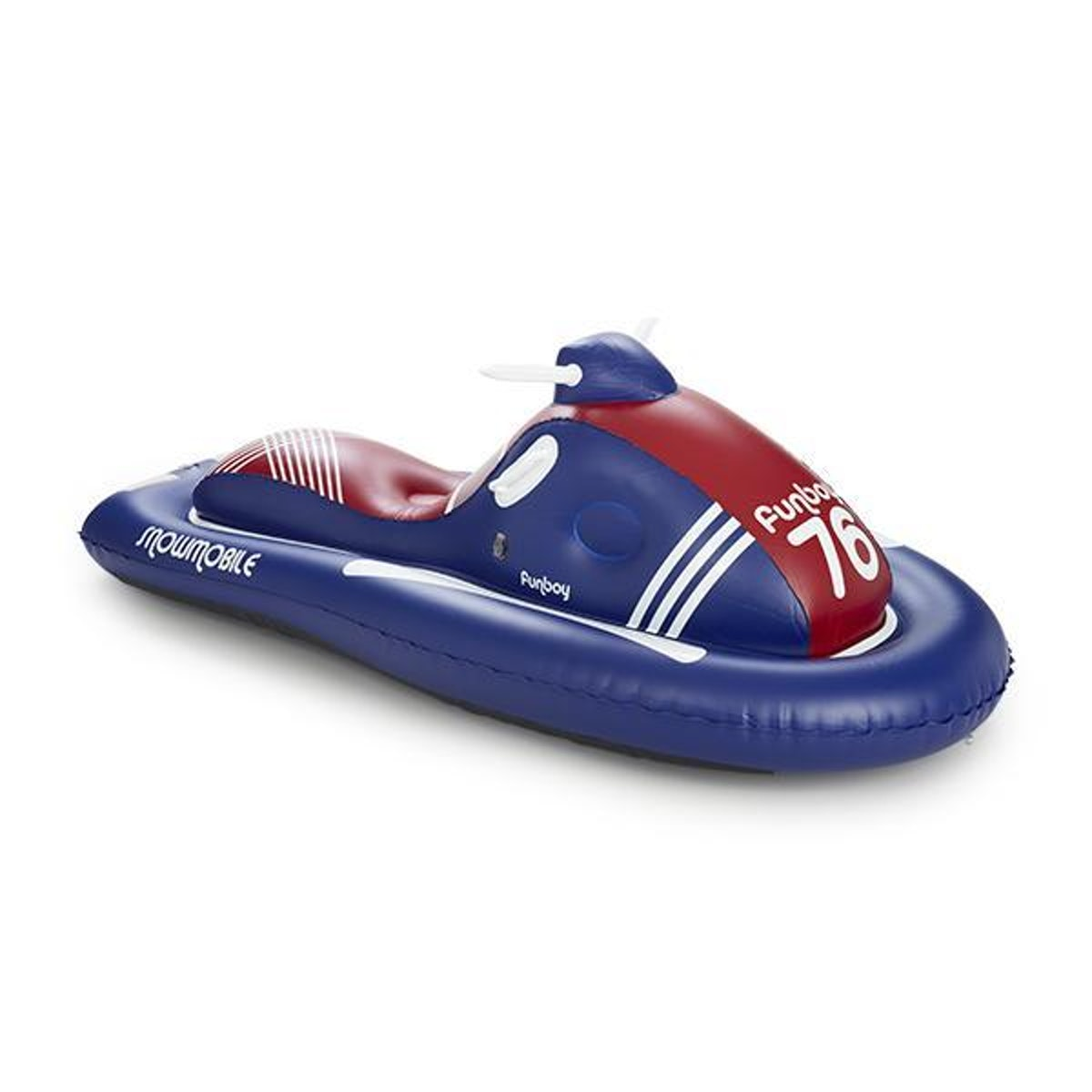 Inflatable Snowmobile Snow Sled