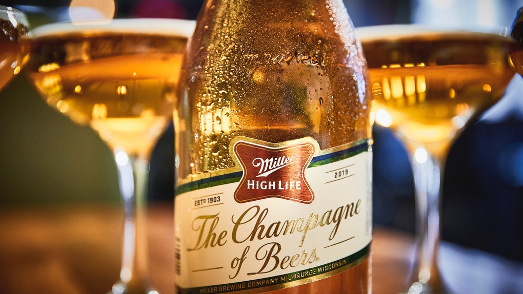 Miller High Life's Champagne Bottles for 2019 are the perfect toast to the holidays.