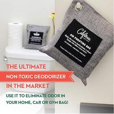 Bamboo Charcoal Air Purifying Bag (4-Pack)