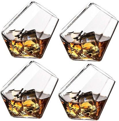 The Wine Savant Diamond Glasses
