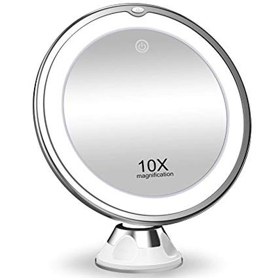 KOOLORBS Magnifying Makeup Mirror with Lights