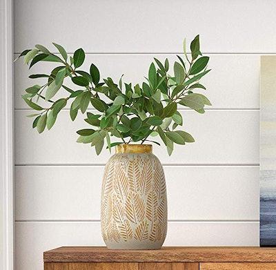 Stone & Beam Emerick Rustic Stoneware Vase