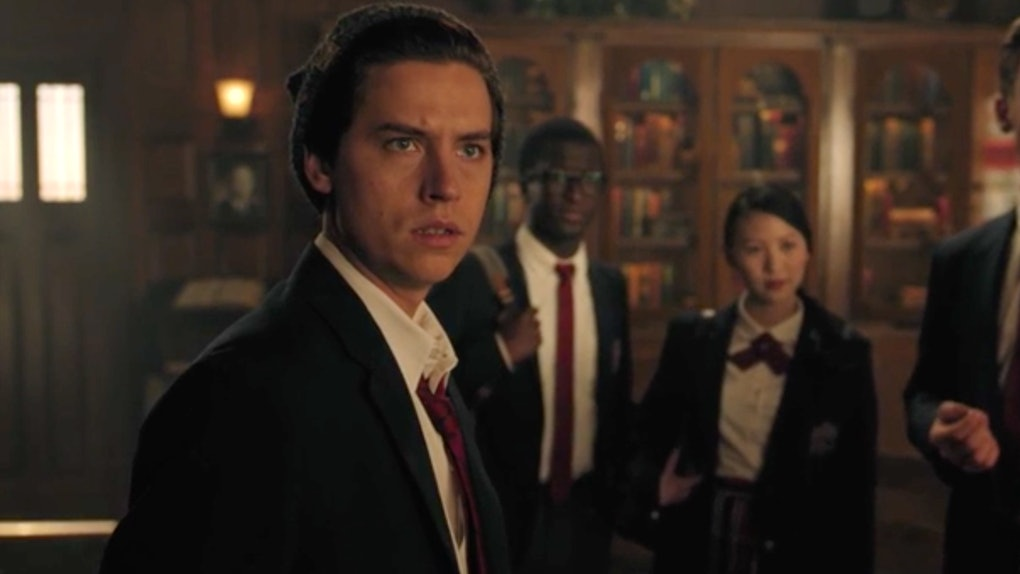 'Riverdale's latest episode ended with Mr. Chipping possibly dead as Jughead stared on in shock.