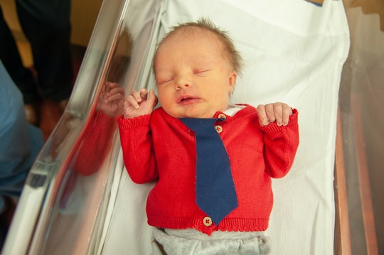 To celebrate World Kindness Day and a local icon, an Allegheny Health Network hospital in Pittsburgh dressed newborn babies in cardigans a la Mr. Rogers.