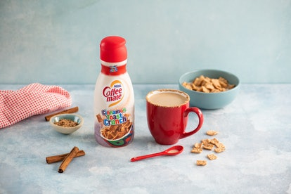 Coffee mate Cinnamon Toast Crunch creamer is the cereal and coffee mash-up you crave.