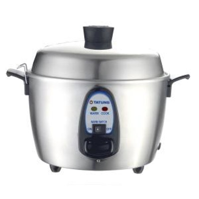 Tatung 11-Cup Multi-Functional Stainless Steel Rice Cooker
