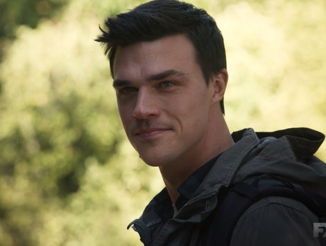 Finn Wittrock in the AHS: 1984 finale.