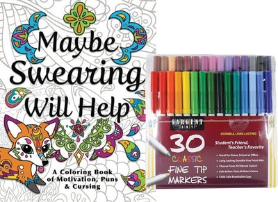 NYX Adult Coloring Book