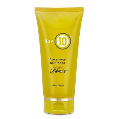 It's a 10 Miracle Five Minute Hair Repair For Blondes