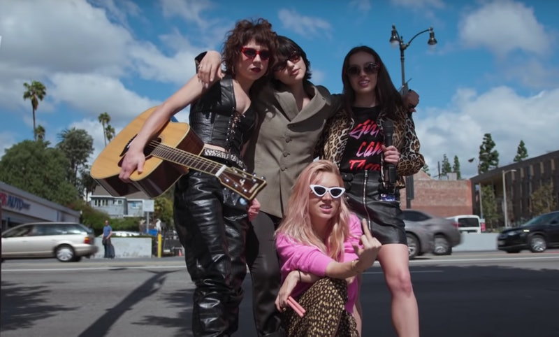 The Nasty Cherry Band members, who are in the new Netflix docuseries, 'I'm with the Band'