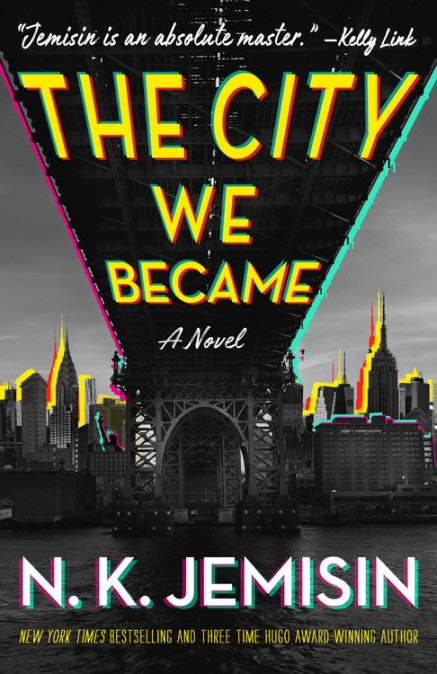 The City We Became by N.K. Jemisin is a best book of 2020.