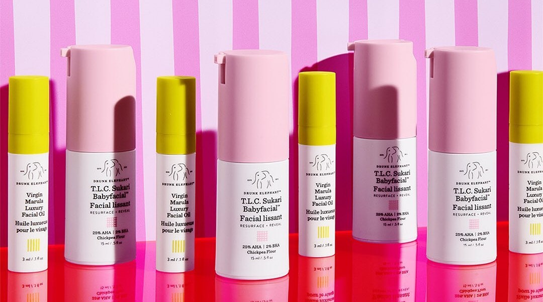 Viral beauty products in 2019 include Drunk Elephant, Glossier, and more