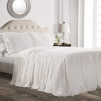 Lush Décor Ruffle Skirt Bedspread Set