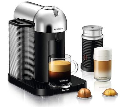 Breville Vertuo Coffee and Espresso Machine, Chrome