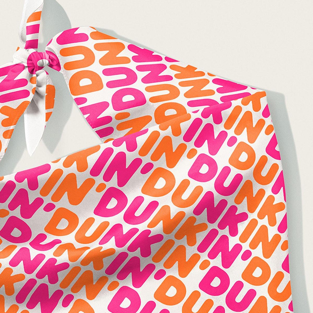 Dunkin Puppin' Dog Bandana