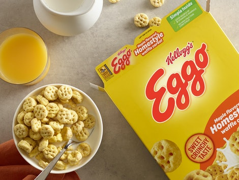 Kellogg's is brining Eggo Waffle Cereal back at the end of November.