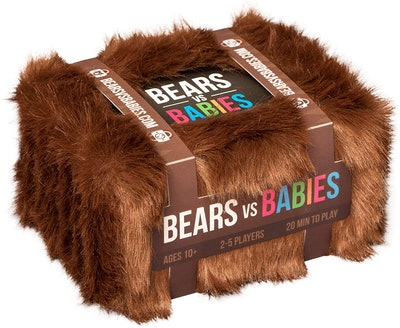 Exploding Kittens LLC Bears Vs. Babies Card Game