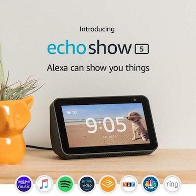 Amazon Echo Show 5 Charcoal
