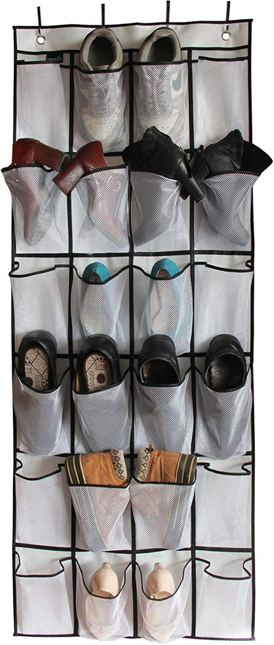 MISSLO Over The Door Shoe Organizer