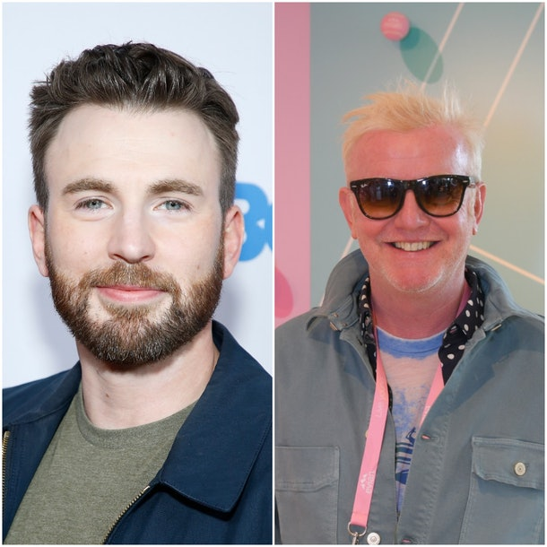Chris Evans actor and Chris Evans host