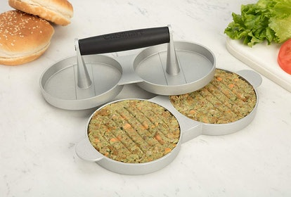 Cuisinart Aluminum Double Burger Press