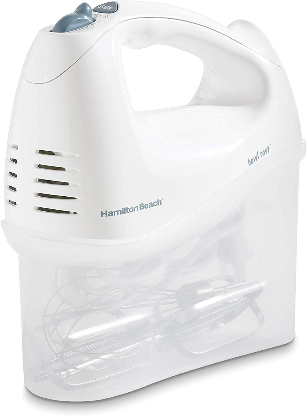 Hamilton Beach Electric Hand Mixer with Storage Case