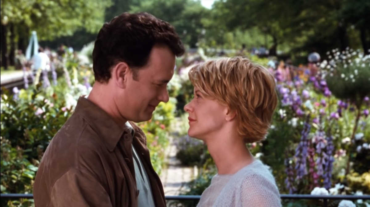 """Tom Hanks and Meg Ryan portray Joe and Kathleen from """"You've Got Mail."""""""