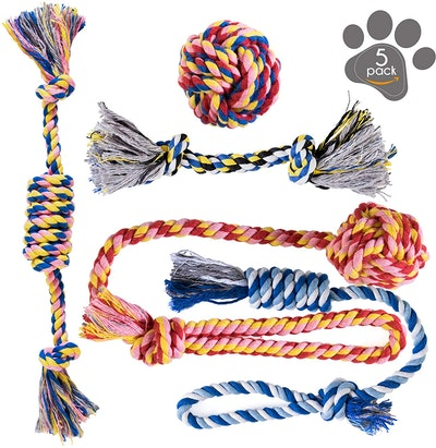 Pets&Goods Rope Toys (Set of 5)