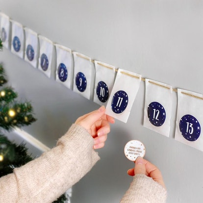 Personalised A Date A Day Couple's Advent Calendar