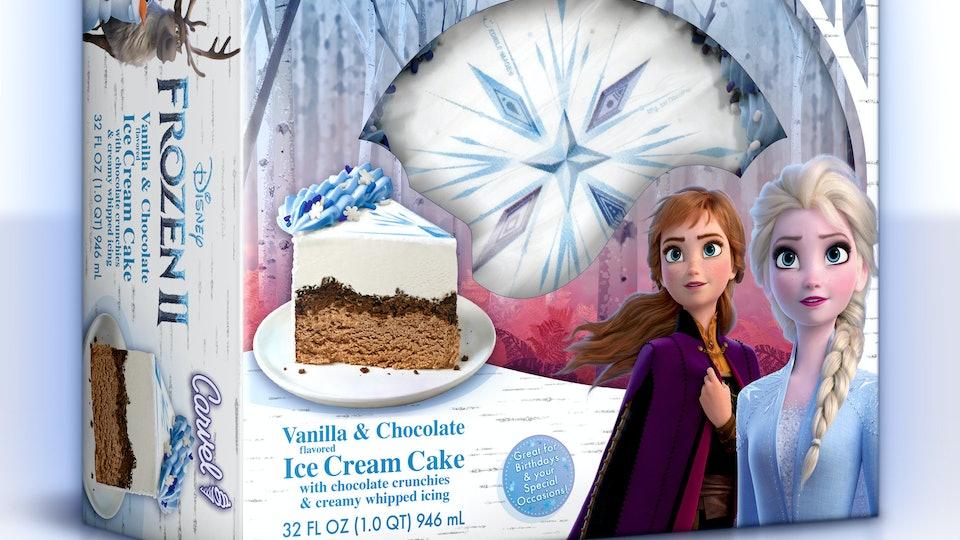 """""""Frozen 2"""" Carvel ice cream cake"""