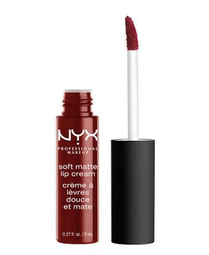 Soft Matte Lip Cream in Cranberry Red