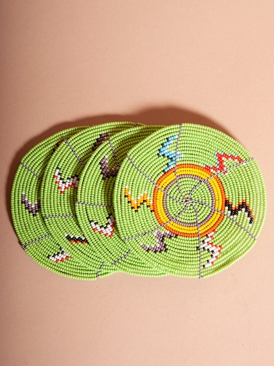 Beadworks Coasters (set of 4)