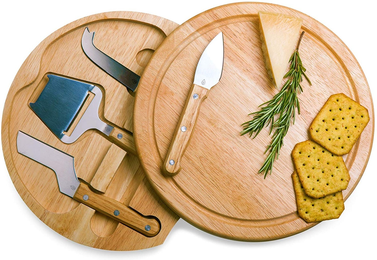 TOSCANA Cheese Board with Cheese Tools
