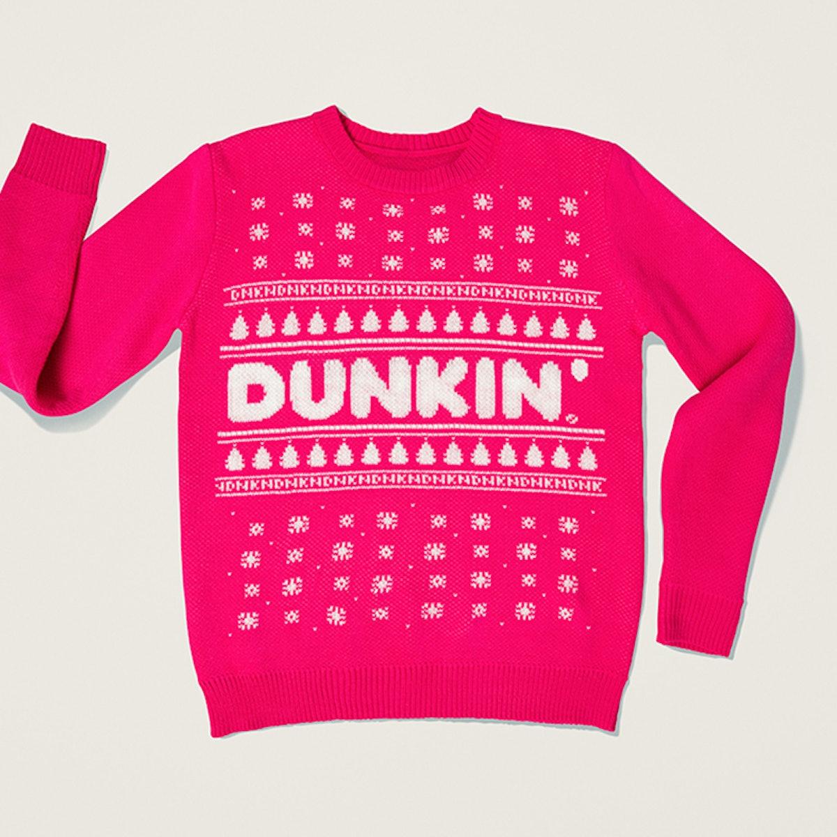 Dunkin' Ugly Sweaterin' Holiday Crewneck