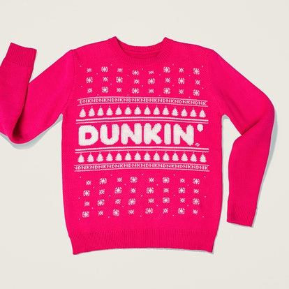 Dunkin' Ugly Sweaterin' Holiday Crewneck