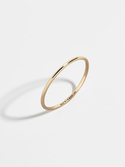 Virgina 14k Gold Stacking Ring