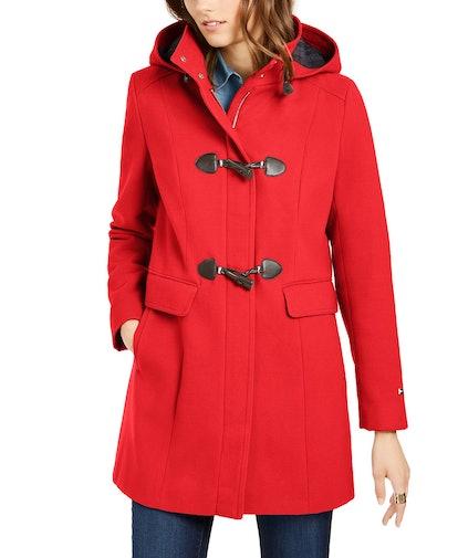 Hooded Toggle Coat