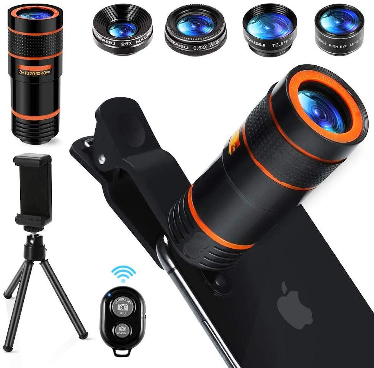 Ragu Professional Phone Lens Kit (10-pieces)