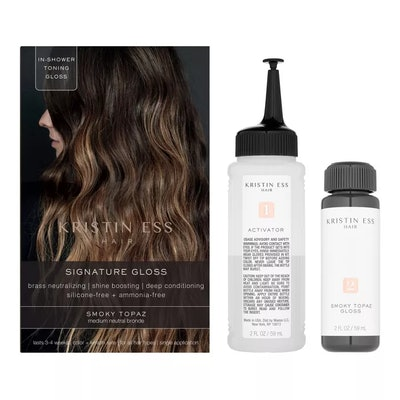 Kristin Ess Hair Signature Gloss Temporary Hair Color - Smoky Topaz
