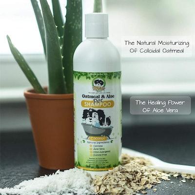 Mika Pets Oatmeal & Aloe Dog Shampoo