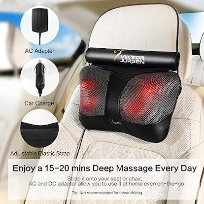 VIKTOR JURGEN Neck Massage Pillow