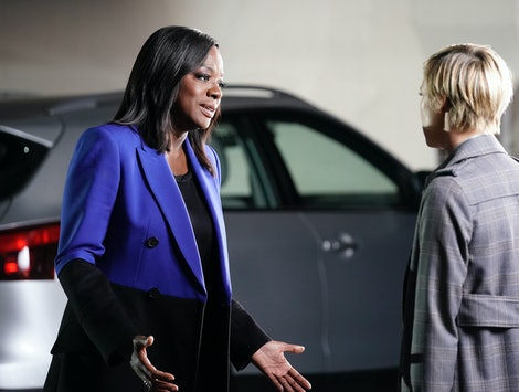 "Annalise tried to protect Bonnie in How To Get Away with Murder's Nov. 14 episode, ""I Want to Be Free."" (Pictured: Viola Davis and Liza Weil)"