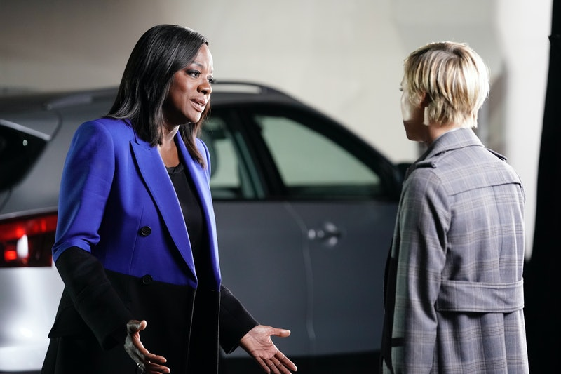 """Annalise tried to protect Bonnie in How To Get Away with Murder's Nov. 14 episode, """"I Want to Be Free."""" (Pictured: Viola Davis and Liza Weil)"""