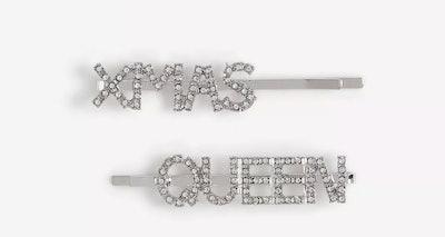 Christmas Queen Hair Slides
