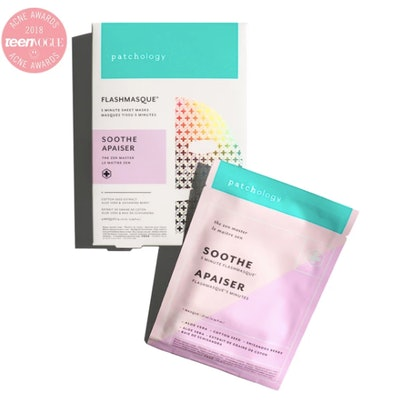 FlashMasque Soothe 5 Minute Sheet Mask: 4 Pack